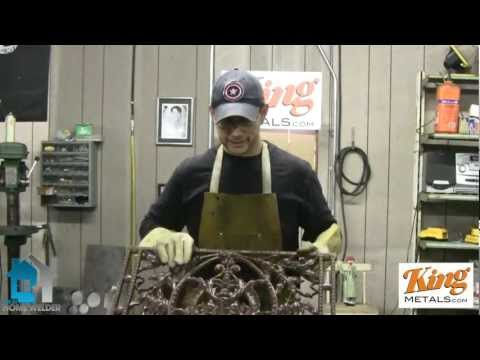 How To Weld A Fireplace Screen