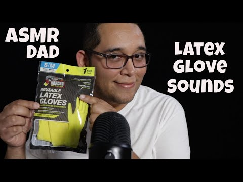 ASMR Trying Out Latex Glove Sounds
