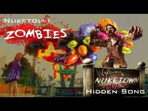 Nuketown Zombies: Mannequins Song Easter Egg