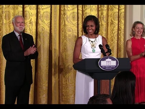 First Lady Michelle Obama Honors National Design Awards Winners