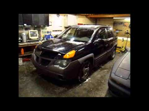 2001 Pontiac Aztek $1200 3.4 Liter 3400 GM Automatic Transmission Bad Intake Manifold Gasket