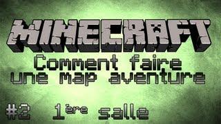 Minecraft Tuto [FR] - Comment faire une map aventure - Part 2 - Première Salle