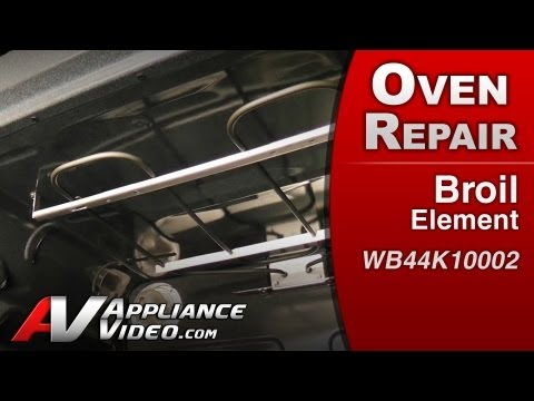 Broil Element - Stove / Oven or Range Repair (GE # WB44K10002 Replacement Part)