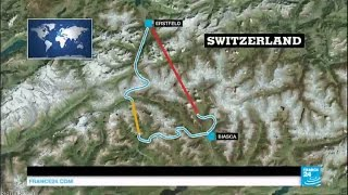 World's longest tunnel: Switzerland inaugurates 57.1 km rail route through Alps