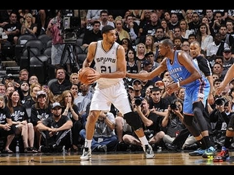 Duel: Tim Duncan vs. Kevin Durant in Game 1 of the Conference Finals