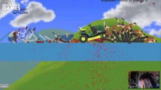 ROJO - Happy Wheels (Funny moments Compilation) Part.1