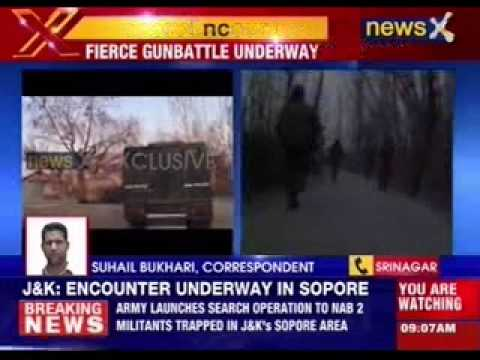 Army launches search operation to nab terrorists in Sopore Jammu and Kashmir