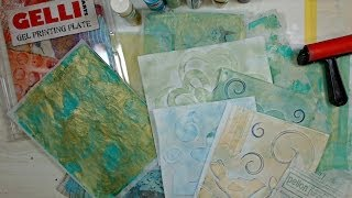 Gelli Plate Love Mar 2014 - Kraaft It Live!