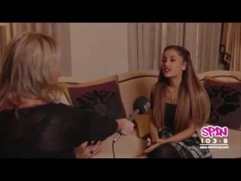 Ariana Grande tells Spin 1038 about the EMAs, Harry Styles and her Halloween costume