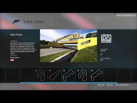Forza Motorsport 6 - Track List (08.09.2015)
