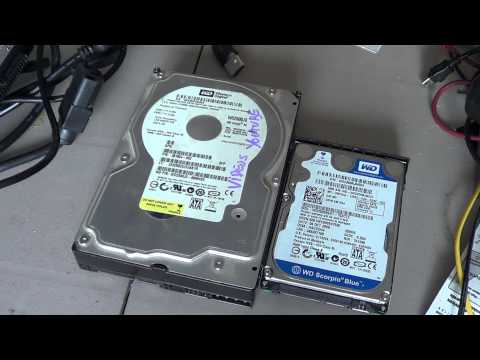 How to recover and delete data from a failed hard drive