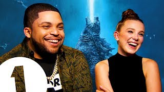"""She's a child prodigy!"" Millie Bobby Brown gets ALL the love from Godzilla costar O'Shea Jackson Jr"