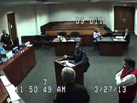 Police Miss Court 7 Times - Connie Marshall - Part 4 - March 27, 2013 Cover-up - Case 12-F-007230