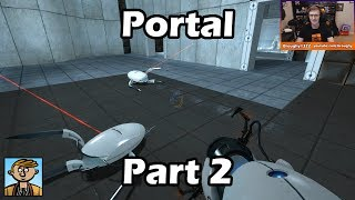 Portal - Part 2 - Playthrough/Let's Play