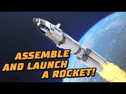 Get Ready to Launch a Rocket! -- LEGO© City Rocket Assembly & Transport