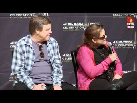 Mark Hamill & Carrie Fisher - Star Wars Celebration Europe | press conference 2013