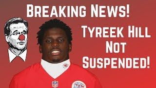Breaking News: Tyreek Hill NOT Suspended! | 2019 Fantasy Football Reaction