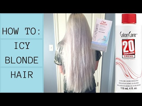 How I Get ICY BLONDE Hair AT HOME (SUPER CRINGEY TBH) streaming vf
