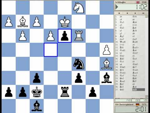 Blitz Chess #951 with Live Comments Nimzo Rubinstein