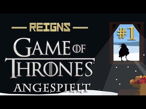 Angespielt Reigns Game of Thrones #1: Der eiserne Thron (german / deutsch / gameplay)