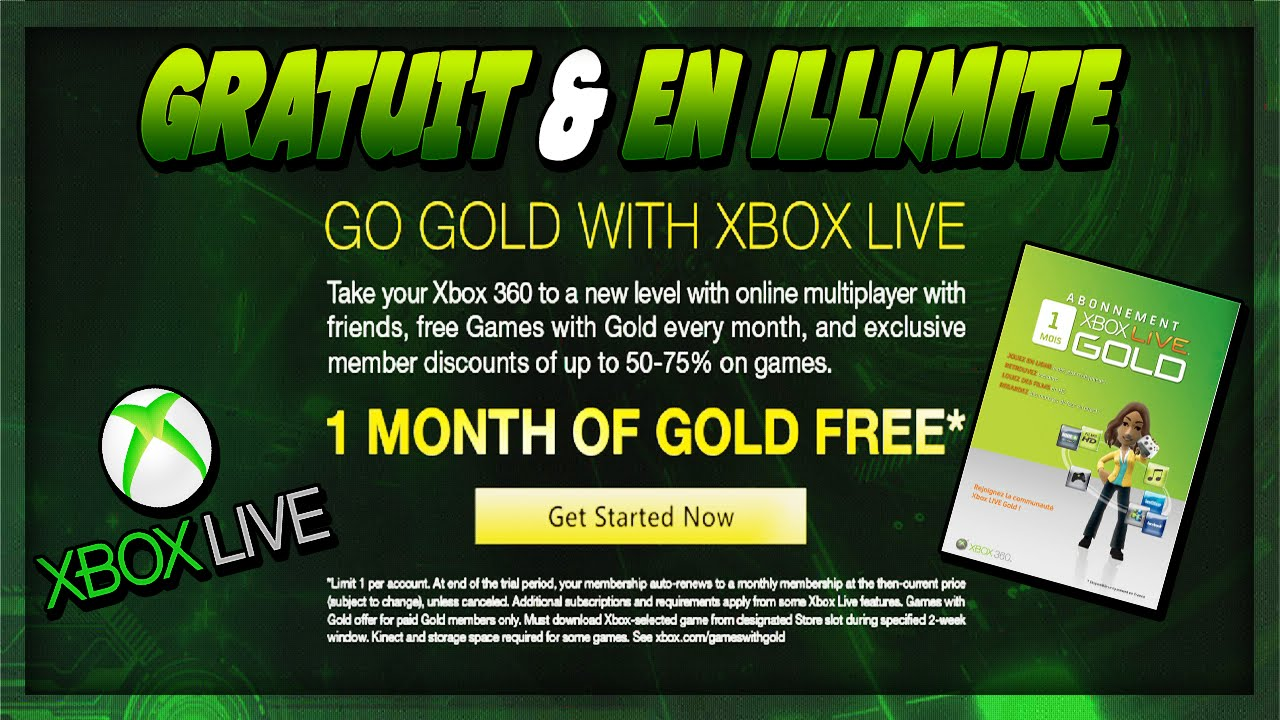 how to get free xbox live gold 2014