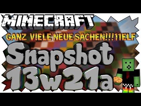 Minecraft 1.6 UPDATE - BESTER SNAPSHOT ALLER ZEITEN!!! - Snapshot 13w21a Review [Full-HD Deutsch]