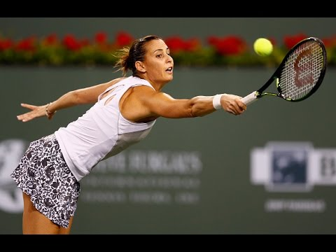 2015 BNP Paribas Open Day 7 WTA Highlights