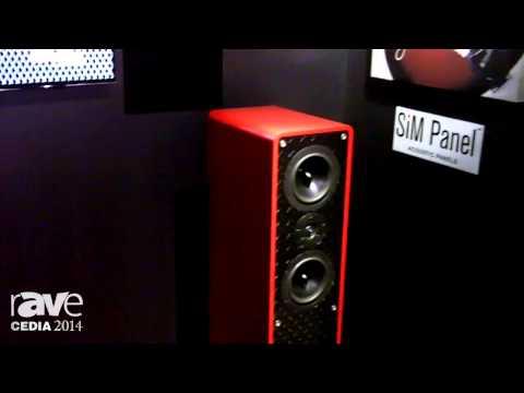 CEDIA 2014: TruAudio Showcases Entry Level In-Ceiling Speakers, Custom Ferrari Red Tower Speakers