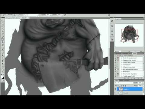 Dota 2 - Pudge - Digital Painting [Speedart]