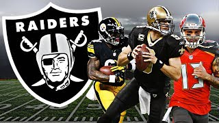 The Oakland Raiders got Leveon Bell in this insane rebuild...