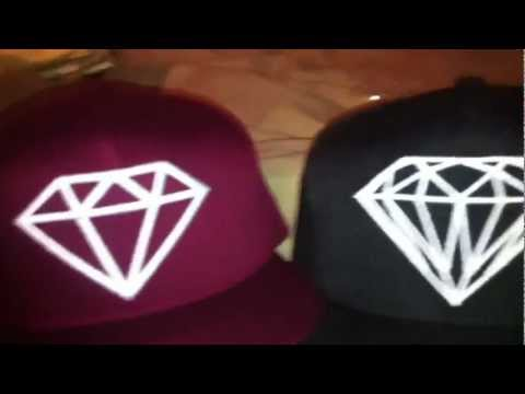 Diamond Supply Co SnapBack Maroon Unboxing