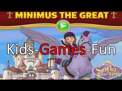 Sofia the First Full Game - Sofia the First Minimus the Great Game Episode #1