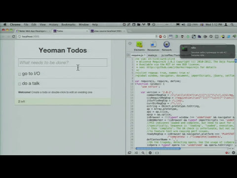Google I/O 2012 - Better Web App Development Through Tooling
