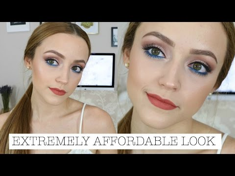 Makeup Tutorial Using Products UNDER $10.00