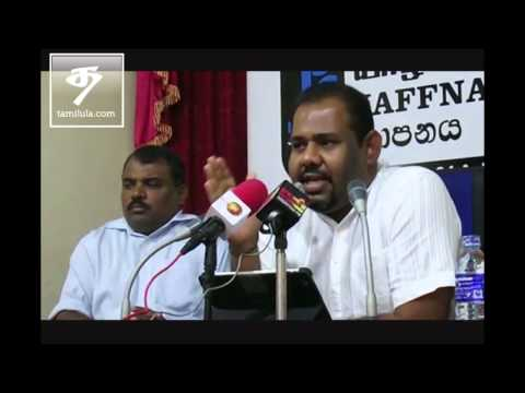 TNFP News Conference in Jaffna
