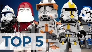 Top 5 - LEGO Clone Troopers That Should Have Been Made