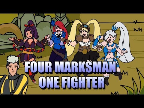 CHOU AND THE FOUR MARKSMAN ANIMATION - HOW TO WIN IN RANKED GAMES