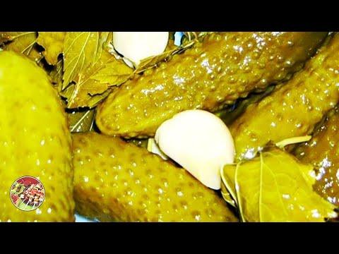 Хрустящие солёные огурчики на зиму. Просто, вкусно, недорого.