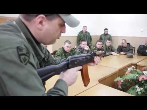 2015 Огневая подготовка казаков. Инструктаж.