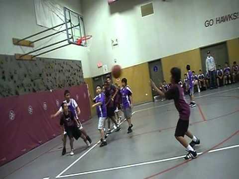 Gavilan View Middle School Basketball Game 2012