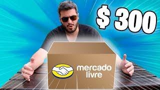 ABRINDO UMA CAIXA MISTERIOSA DE R$ 300 DO MERCADO LIVRE