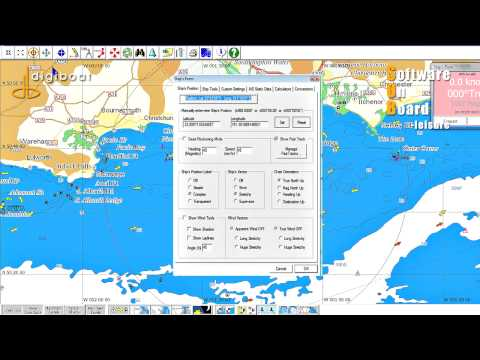Digiboat Software On Board SOB Marine Navigation Software .mp4