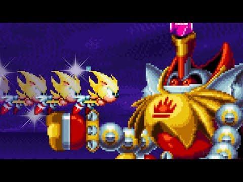 Sonic Mania - FINAL BOSS & TRUE ENDING!