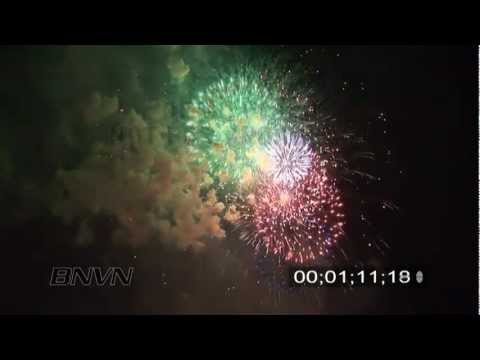 2007 Fireworks in HD Video