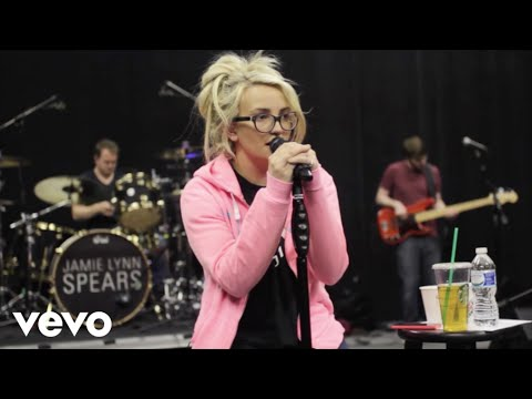 Jamie Lynn Spears - How Could I Want More (Tour Rehearsal)
