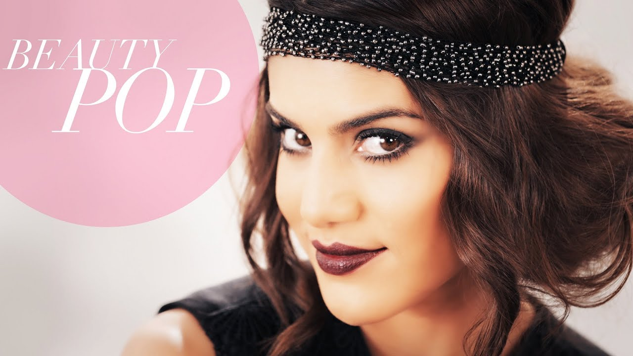Great Gatsby Inspired 1920s Flapper Makeup Full Look - Beauty Pop ...
