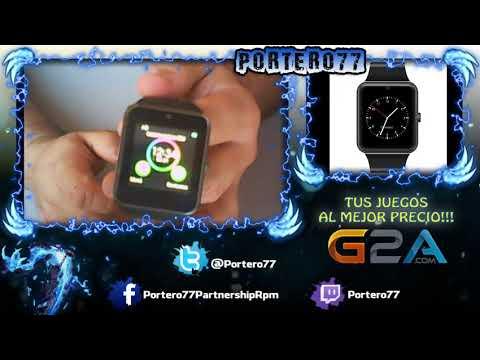 review Reloj Inteligente Bluetooth Smart Watch Teléfono Inteligente