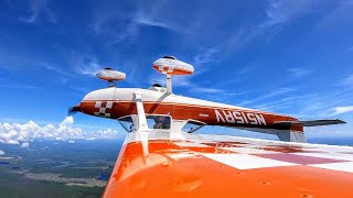 Aerobatics in a Cessna!