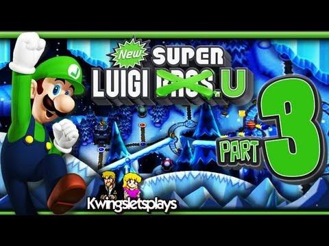 New Super Luigi U - Walkthrough Part 3 Frosted Glacier