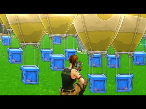 ALL AIRDROPS IN ONE SPOT!!   Fortnite Funny and Best Moments Ep.14